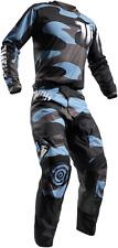 Thor MX Pulse Covert Midnight Black Blue Jersey & Pant Combo Men's Sizes MX/ATV