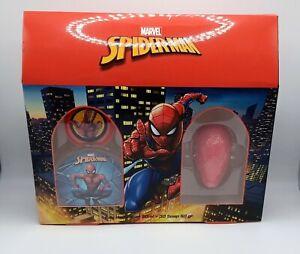 New Marvel Spiderman Petite Beaute Toilette Spray 50ml + 3D Soap 50 gr. Gift Set