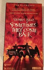 STEPHEN KING'S, SOMETIMES THEY COME BACK, TIM MATHESON, VHS, VIDMARK