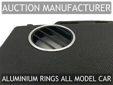 VW New Beetle 98-10 Aluminium Air Vents Surrounds Chrome Rings x2 New