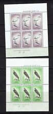 New Zealand: 1961, Health issues, 2 miniature sheets, Birds, Mint