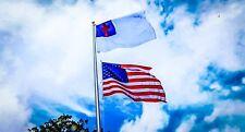 3x5 3'x5' Wholesale Combo USA American & Christian Christ Flag Grommets