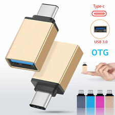 USB 3.0 Female to USB 3.1 Type C Male Converter USB-C OTG Adapter Aluminium GOLD