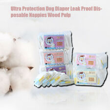 Pet Diapers Female Dog Disposable Thicken Nappy Puppy Comfy Menstrual Pants