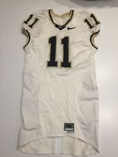 Game Worn Purdue Boilermakers Football Jersey Used Nike #11 Size 42