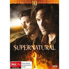 SUPERNATURAL-Season 10-Region 4-New AND Sealed-6 Disc Set-TV Series