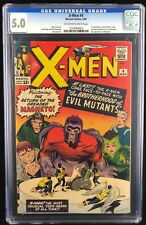 X-Men #4 (Marvel - 3/64) CGC 5.0 VG/FN OW/W 1st app SCARLET WITCH / 2nd MAGNETO
