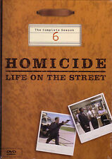Homicide: Life on the Street - Season 6 Six DVD Sealed Brand New dvdABW-26z