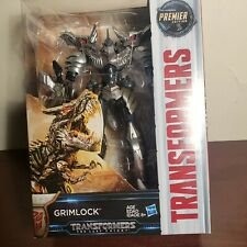 """Transformers The Last Knight Premier Edition Voyager Class GRIMLOCK 8"""" Gift Toy"""
