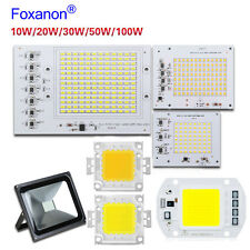 Smart Ic 20W 30W 50W 100W Projetor De Led 2835 Smd Lâmpada Lâmpada chip-on-board Cordão De Chip