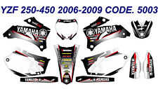 5003 YAMAHA YZF 250 450 2006 2007 2008 2009 DECALS STICKERS GRAPHICS KIT
