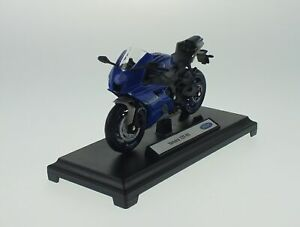 WELLY YAMAHA YZF-R6 1:18 DIE CAST MODEL NEW LICENSED MOTORCYCLE