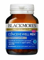 Blackmores-Conceive Well Men 28 capsules