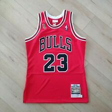 65d3394871e8 100% Authentic Michael Jordan Mitchell Ness 95 96 Finals Bulls Jersey Size  48 XL