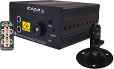 IBIZA DJ Mini Laser LAS160P-MKII grün rot Automatik FB + Musik Steuerung Class 2