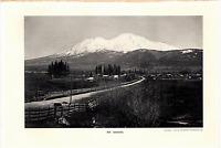 "1903 Antique Art Photo Print Mt. Shasta Dodd Mead Co.10""X 6"""