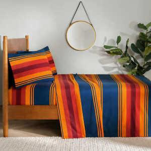 Pendleton 4-piece Flannel Sheet Set - GRAND CANYON (Select Size: Twin-Cal King)