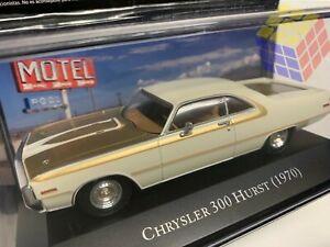 Coche Americano CHRYSLER 300 HURST - Año 1970 -  (Escala 1:43) -  American Cars