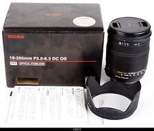 Sigma DC 18-250mm f/3.5-6.3 OS HSM DC Lens  Nikon AF Digital  Mint Box
