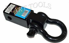 Solid Shank SHACKLE D-Ring Receiver Hitch Capacity: 10,000 Lbs