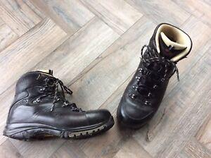 Raichle Mammut Quality Goretex Vibram Leather Walking Boots Sz 8.5 Uk