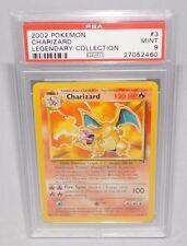 Pokemon - Charizard PSA 9 MINT  Theme Deck Non Holo Version Legendary Collection