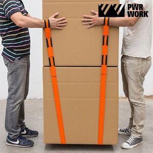 2 Stück Hebebänder Hebegurt Krangurt Umzugsgur Möbel Transportgurt Tragehilfe