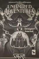 AD&D Advanced Dungeons Dragons Unlimited Adventures Vintage 1993 PC Game RPGA