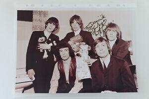 Autogramm Charlie Watts Rolling Stones original autograph signed 8x10 20x30cm