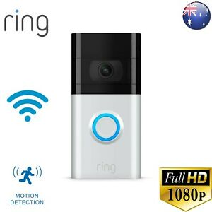 RING VIDEO DOORBELL 3 1080p – Enhanced Wifi, Improved Motion Detection=BRAND NEW