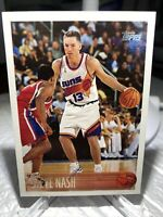 1996 - 1997 Topps Steve Nash Phoenix Suns #182 1996 NBA Draft Light Scratches