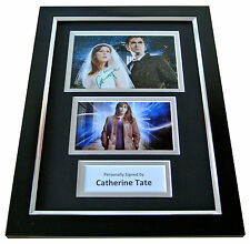 CATHERINE TATE Signed A4 FRAMED Photo Autograph Display DOCTOR WHO TV & COA