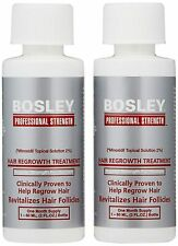 Bosley Hair Regrowth Professional Treatment for Women, 2oz - 2 Pack
