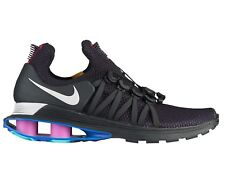 Nike Shox Gravity Mens AR1999-500 Black Grand Purple Grey Running Shoes Size 9