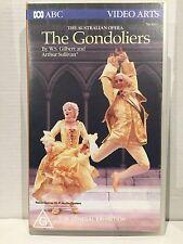 THE AUSTRALIAN OPERA~ THE GONDOLIERS ~ DAVID HOBSON ~SUZANNE JOHNSTON ~VHS VIDEO