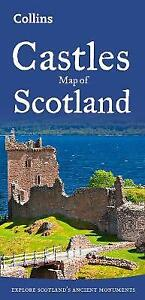Castles Map of Scotland, Collins Maps,  Paperback