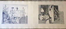 18 Commedia Dell' Arte Lithographs by  Pecsenke, J. A.-SIGNED, LIMITED 150