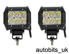 2pcs 18W LED WORK LIGHT 1800lm SPOT LAMP 12V 24V Boat ATV Bike SHIP Boat SUV 4X4