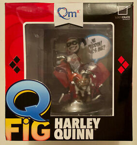 Q Fig Qm Harley Quinn Loot Crate Exclusive Figure NEW