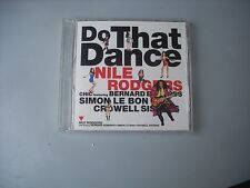 NILE RODGERS and CHIC / DO THAT DANCE special cd-single - JAPAN CD opened