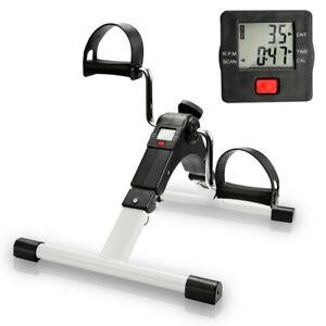 Heimtrainer Trimmrad Arm und Beintrainer Mini Bike Bewegungstrainer Fitness LCD