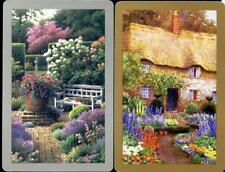 BEAUTIFUL VINTAGE SWAP CARDS COTTAGE GARDENS  EXCELLENT CONDITION