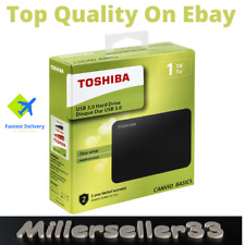 Toshiba Canvio Basics 1TB USB 3.0 Portable External Hard Drive Free Delivery