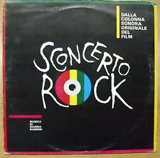 NANNINI GIANNA BERNARDO BERTOLUCCI OST SCONCERTO ROCK  LP 1983 MINT