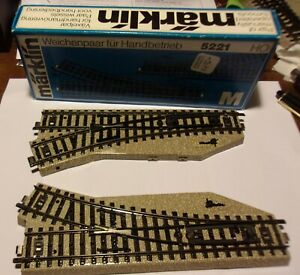 1 Lot Assorted Marklin HO Gauge Track Switches Straight Curved Bumper