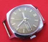 Raketa Sekonda Russian wrist watch vintage Soviet CCCP mechanical automatic auto