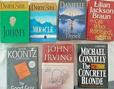 Large Print Fiction Novels You Pick the Book Bestsellers! Paperback or Hardcover