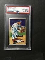 1951 Bowman #323 Joe Adcock Signed Baseball Card RC High Number PSA/DNA