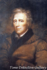 Frontiersman Daniel Boone Painting by John James Audobon - Historic Art Print