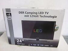 "AL-CAR EASI Fernseher LED TV 61 cm 24"" Full HD 12V Camping Wohnmobil DVD,DVB-T2"
